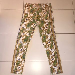 Colorful Design Jeans